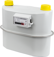 Gaszähler G16 Zweistutzen DN40 Temperaturkompensiert