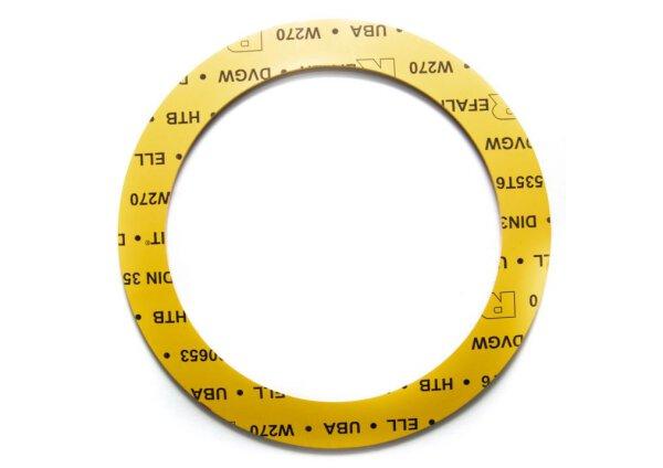Gas Dichtung DN150/PN 10-16 169 x 218 x 3,0 mm aus REFALIT