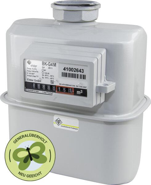 Gaszähler G4 Einstutzen DN25 | generalüberholt